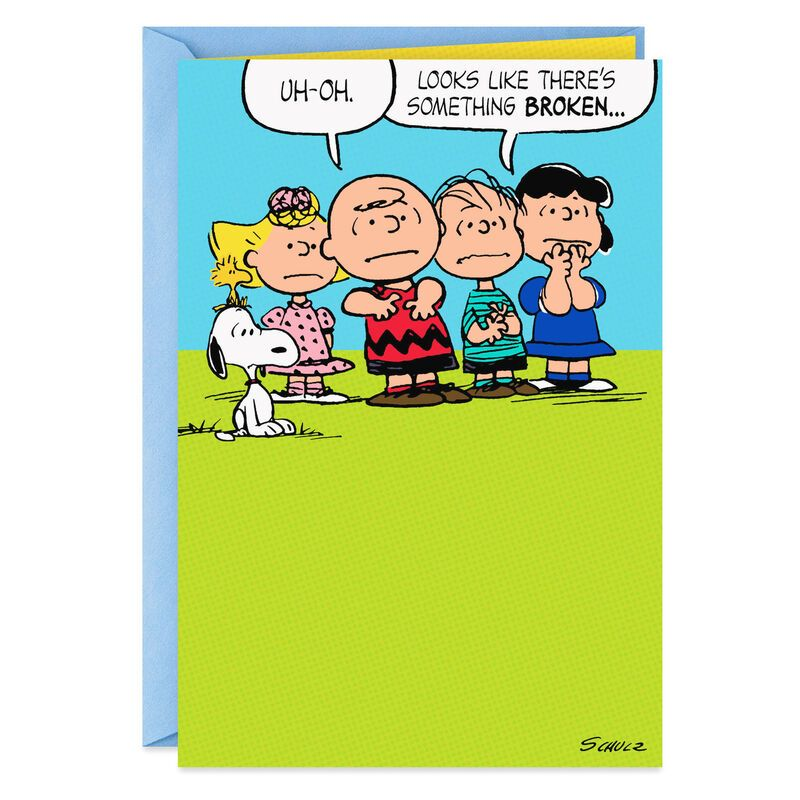 The Peanuts® Gang Trophy Father's Day Card for Unc