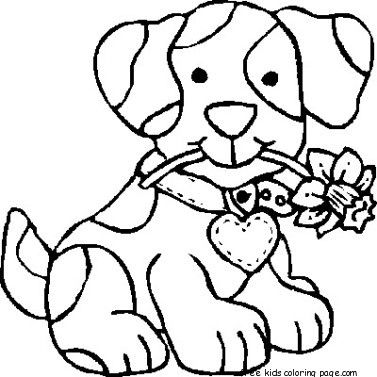 Dog Coloring Pages For Preschoolers For Kids Puppy Coloring Pages Dog Coloring Page Free Coloring Pages