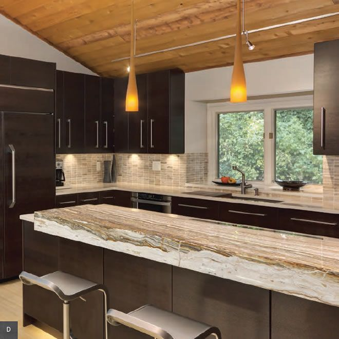 Contemporary kitchen with lbl cypree large low voltage pendants in contemporary kitchen with stone bar under cabinet lighting and lbl cypree large low voltage pendants in amber and satin nickel lbl monorail with bare head aloadofball Choice Image