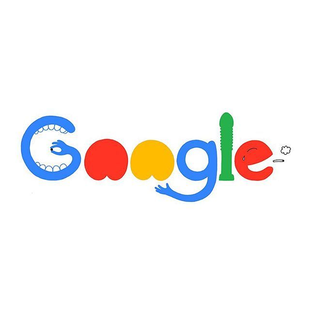 New google logo, personified. via mrzyk moriceau