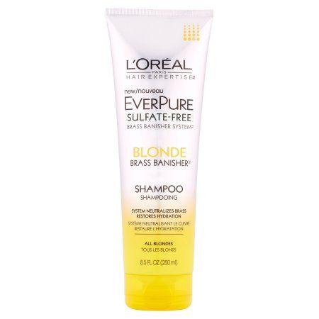 L Oreal Paris Hair Expertise Everpure Blonde Shampoo 8 5 Fl Oz