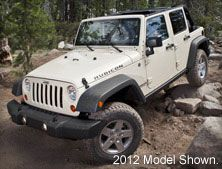 2013 Jeep Wrangler Unlimited Rubicon Rock Climbing