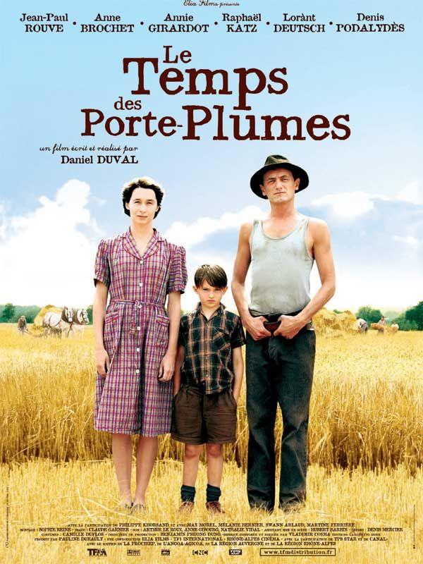 Le Temps Des Secrets Film : temps, secrets, Temps, Porte-plumes, (2006), Daniel, Duval, Jean-Paul, Rouve,, Brochet, Porte, Plume,, Voyage