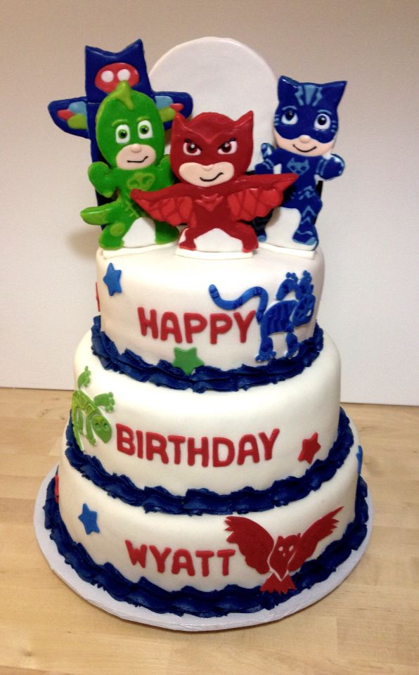 Birthday Cake Images Hq : 1000+ images about PJ Masks Birthday on Pinterest Masks ...