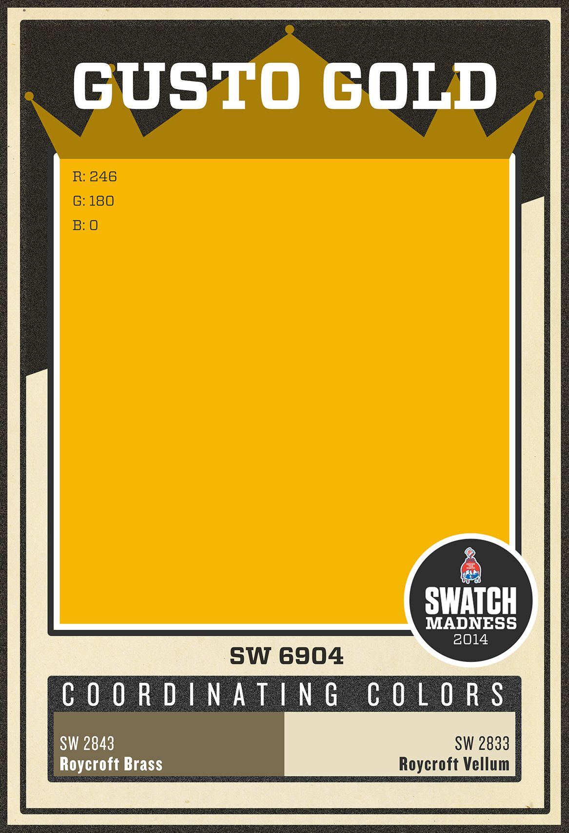 Yellow Paint Colors Sherwinwilliams Yellow Paint Color  Gusto Gold Sw 6904  Paint