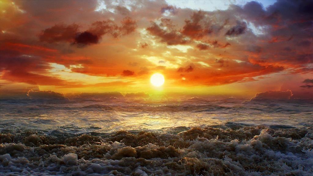 Fond D Ecran Coucher De Soleil Sur L Ocean Coucher De Soleil Paysage Coucher De Soleil Papier Peint Coucher De Soleil