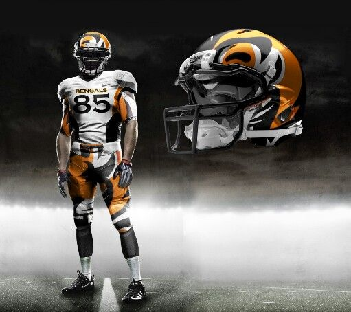 separation shoes d6ca1 9ea54 Cincinnati Bengals concept uniform | Cincinnati Bengals ...