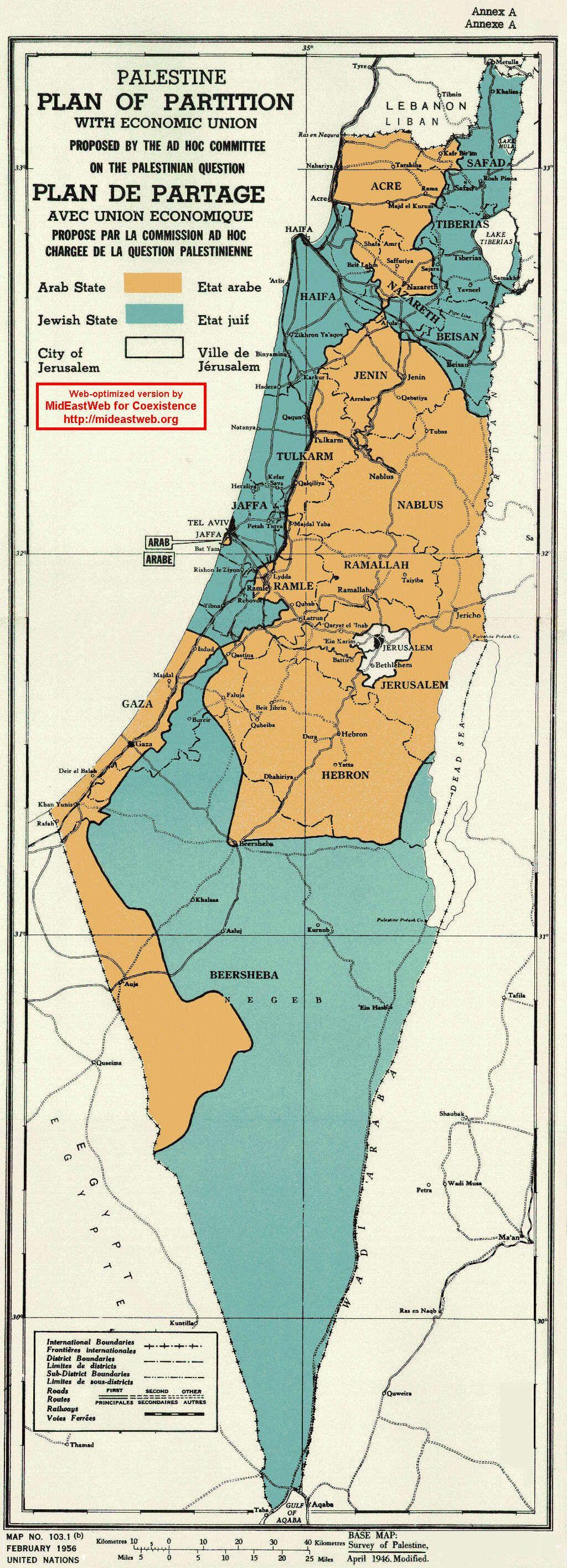 Un 1947 Partition Plan Map Geographie Cartographie Bel Art