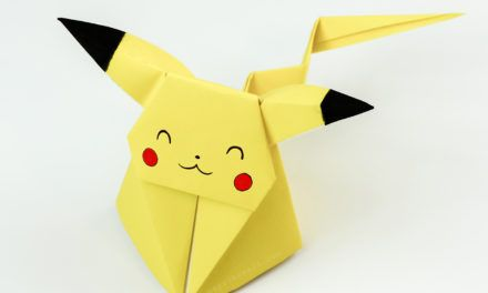 how to make a paper pokemon card holder