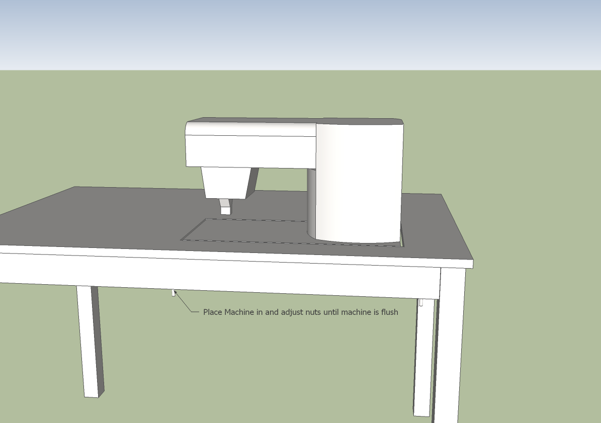 DIY Sewing Table Plans   quilting   Pinterest   Table plans ... : quilting machine table - Adamdwight.com