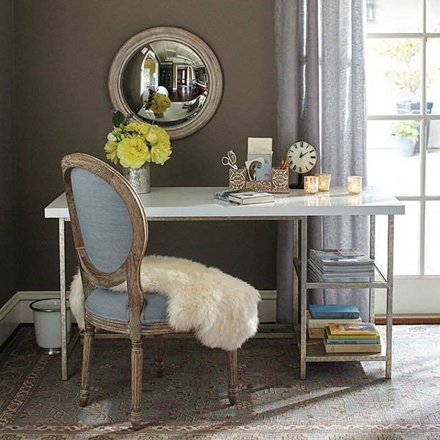 Rustic Homeoffice Design: With This Colton Mix & Match Desk Combination, A Sleek