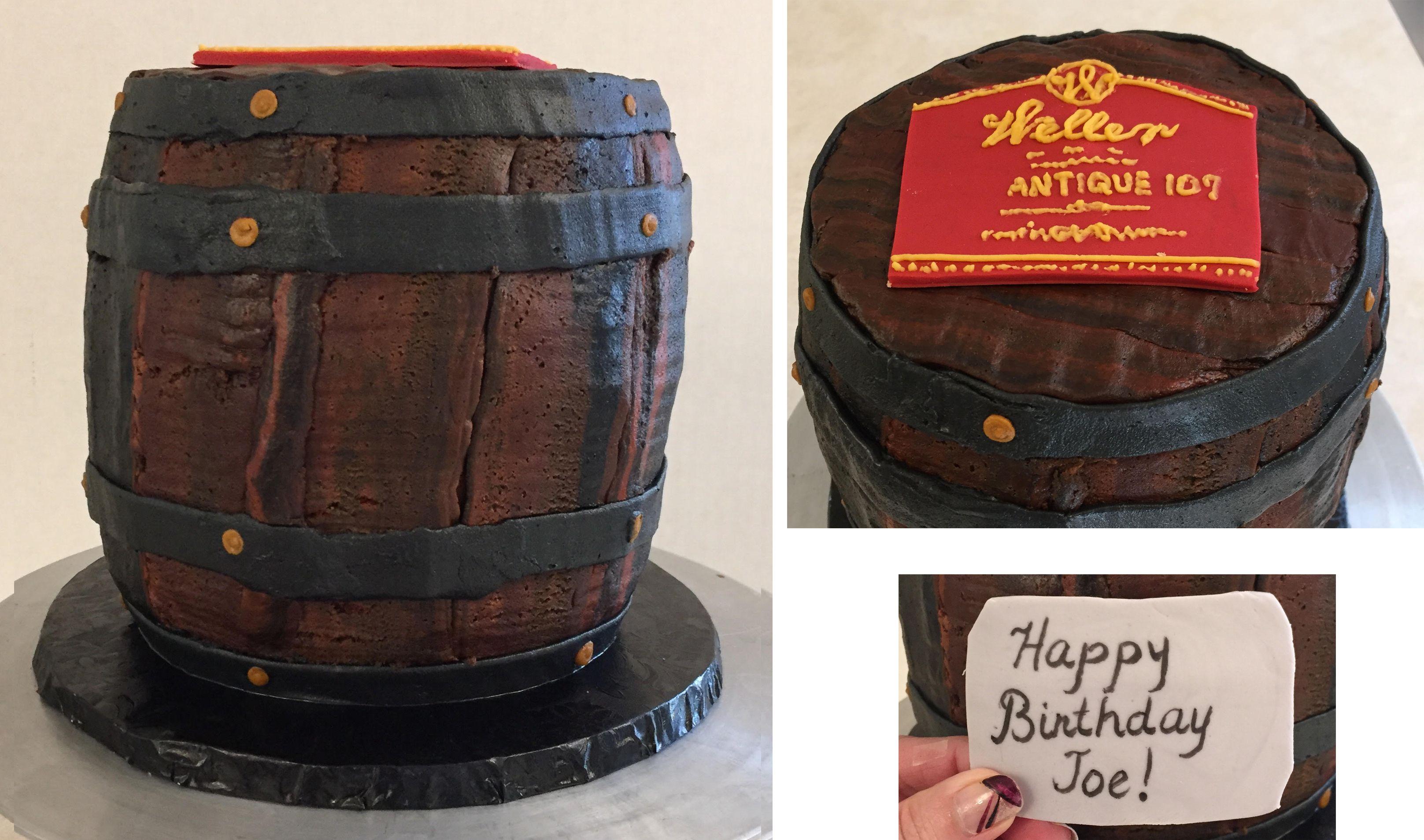 Bourbon Barrel Cake Barrel Cake Weller Bourbon Bourbon Barrel