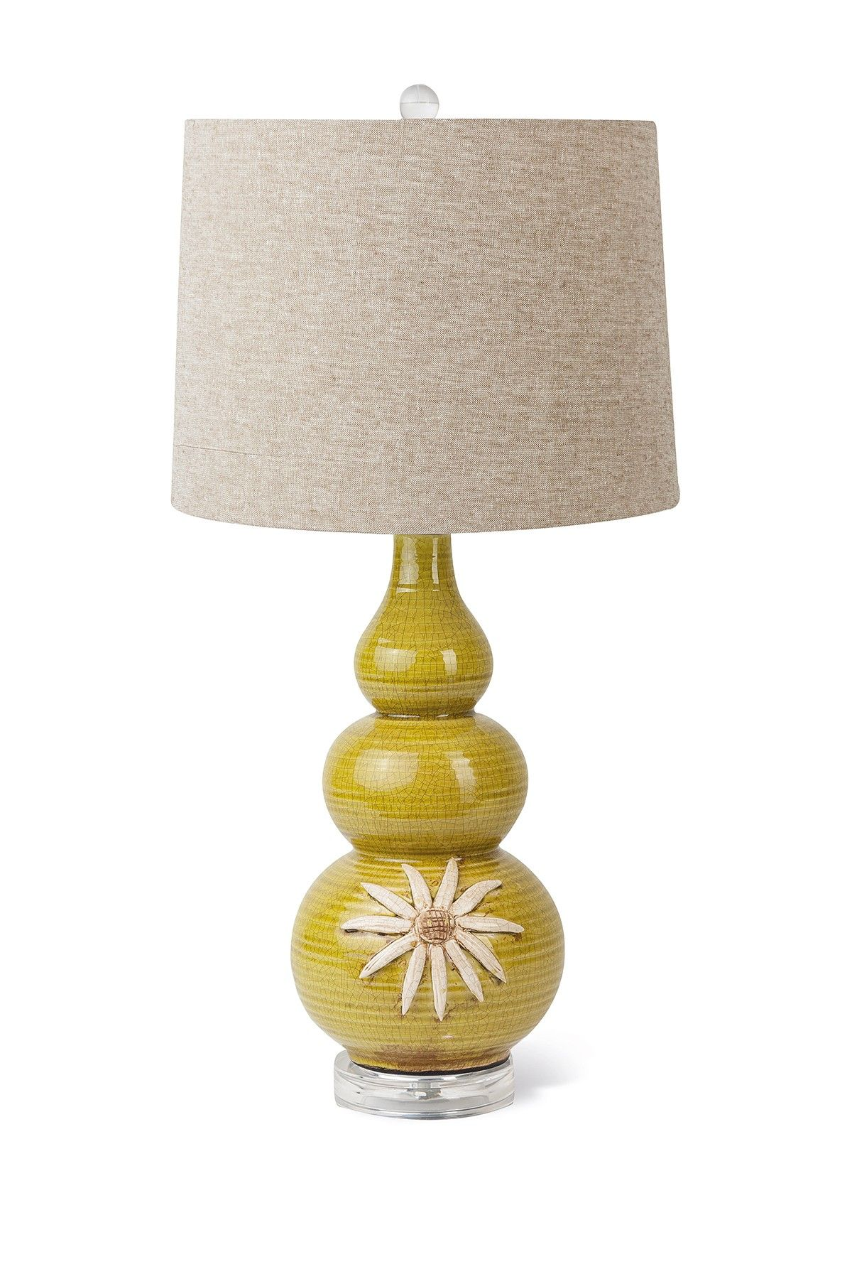 Transpac Imports | Ceramic Green Flower Lamp | Sponsored by Nordstrom Rack.