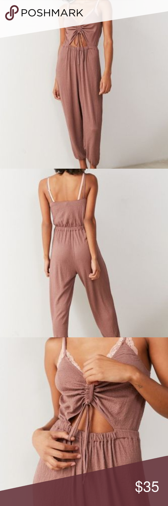 7b619aa012ce Ladies Out From Under Elsie Cinched Cutout Jumpsui Out From Under Elsie  Cinched Cutout Jumpsuit. Throw on   go w this effortlessly breezy jumpsuit  Featuring ...