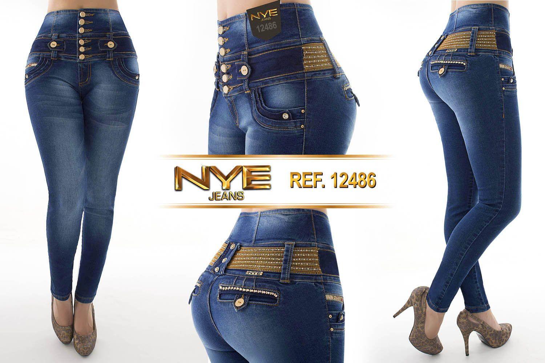 Nueva Coleccion De Pantalones Jeans Colombiano Jeans Fashion Pants