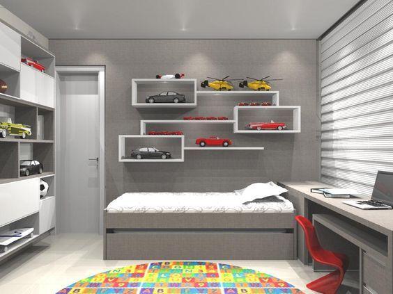 Resultado de imagen para quartos de meninos planejados  인테리어  Pinterest ...