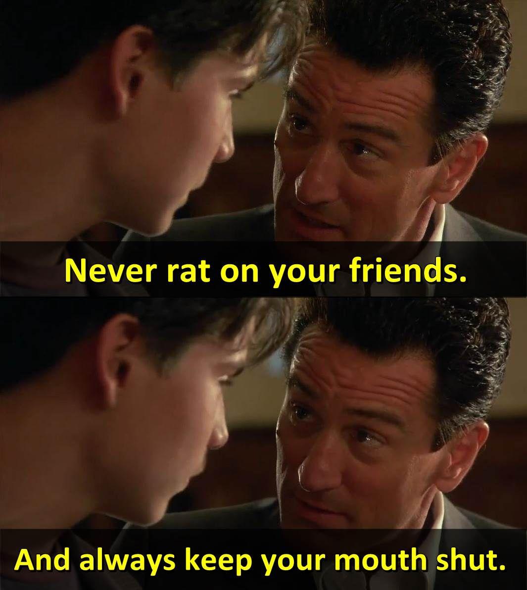 Goodfellas 1990 Robert De Niro Joe Pesci Ray Liotta Dir Martin Scorsese Goodfellas Movie Best Movie Lines Favorite Movie Quotes