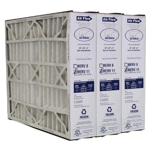 Trion Air Bear 259112102 Merv 11 Filters 3pk 20x25x5 You Can
