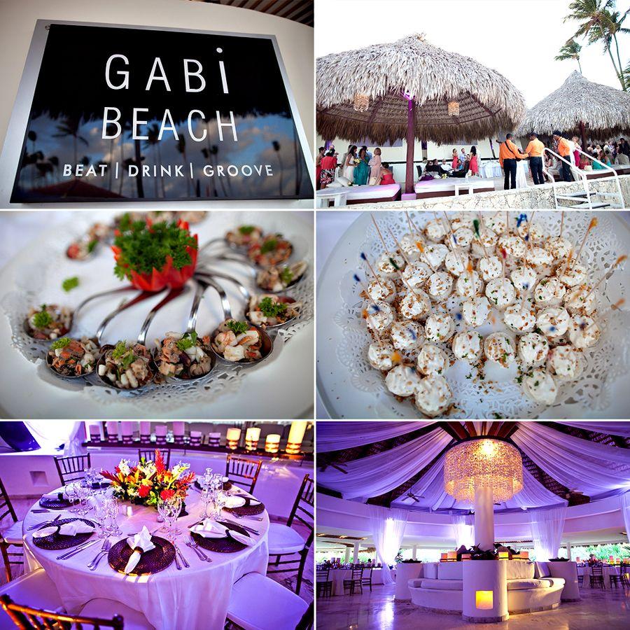 Paradisus Palma Real Wedding Gabi Beach Reception