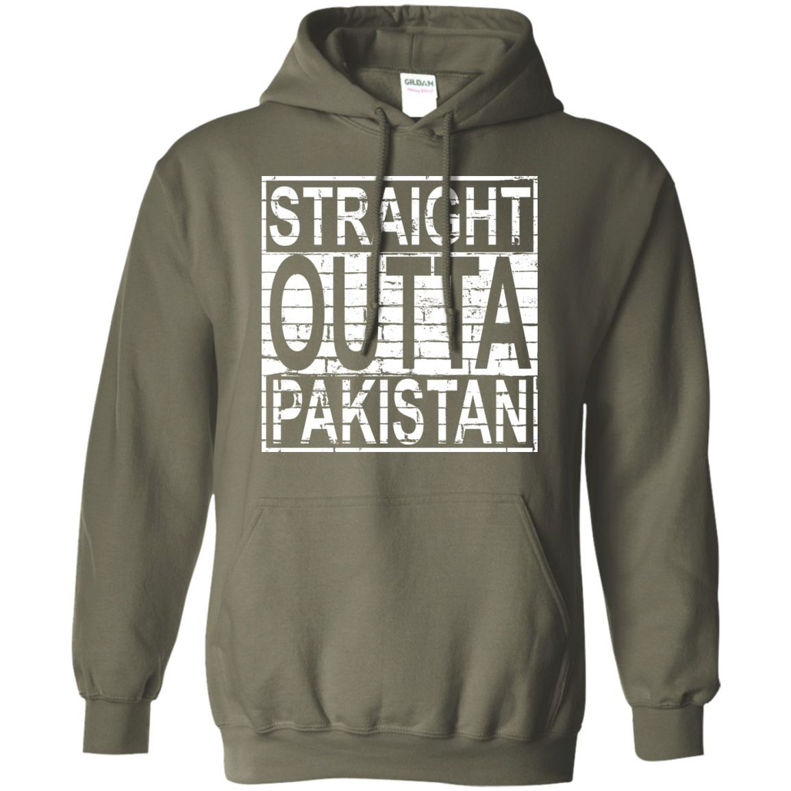 STRAIGHT OUTTA Pakistan Pullover Hoodie 8 oz | Products | Pinterest