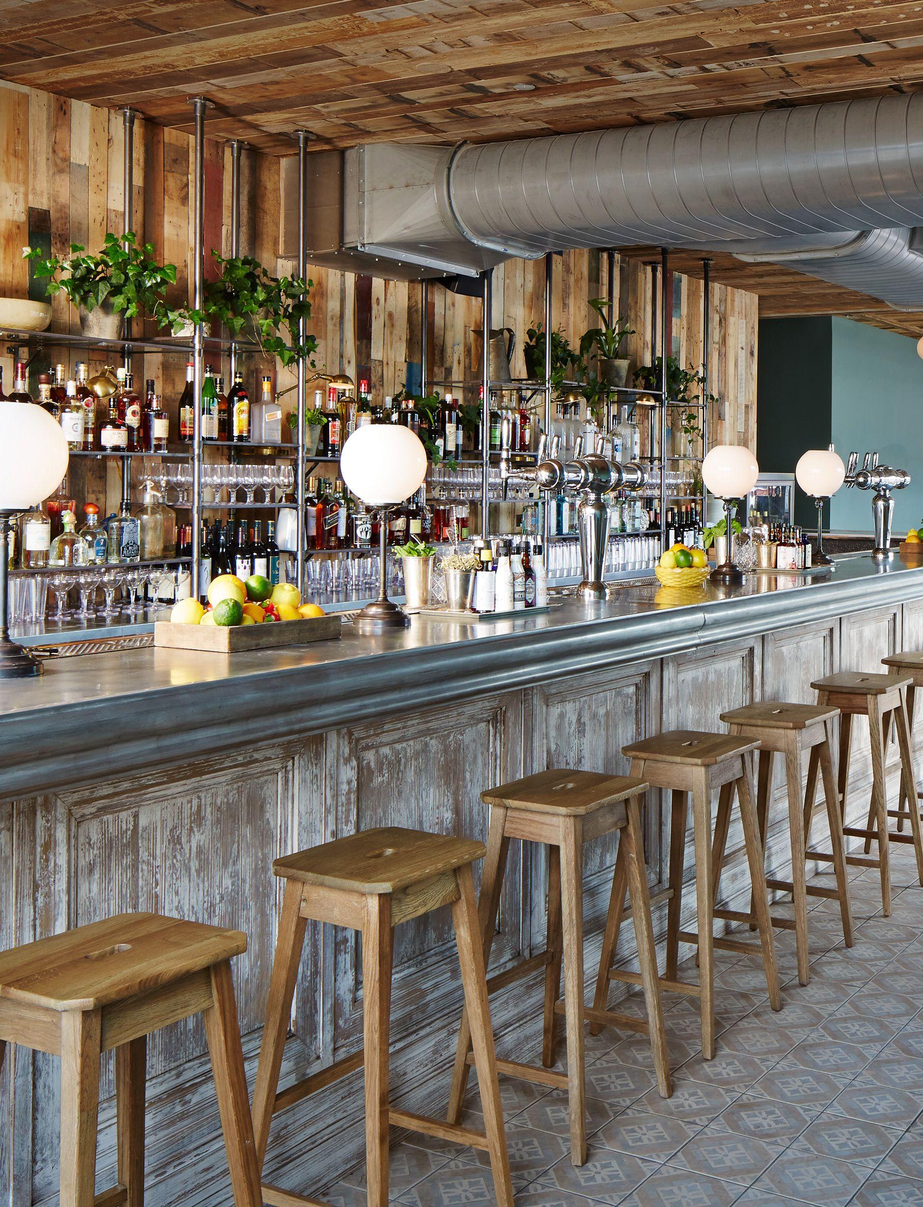 The Bar At Soho House Chicago Bar Design Restaurant Back Bar