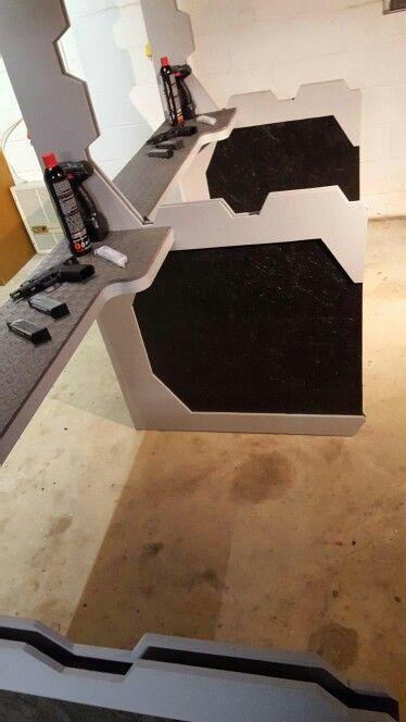 My DIY indoor gun range design and made by myself.