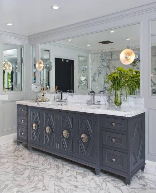 Decor & Trends | White marble bathrooms, Trending decor ...