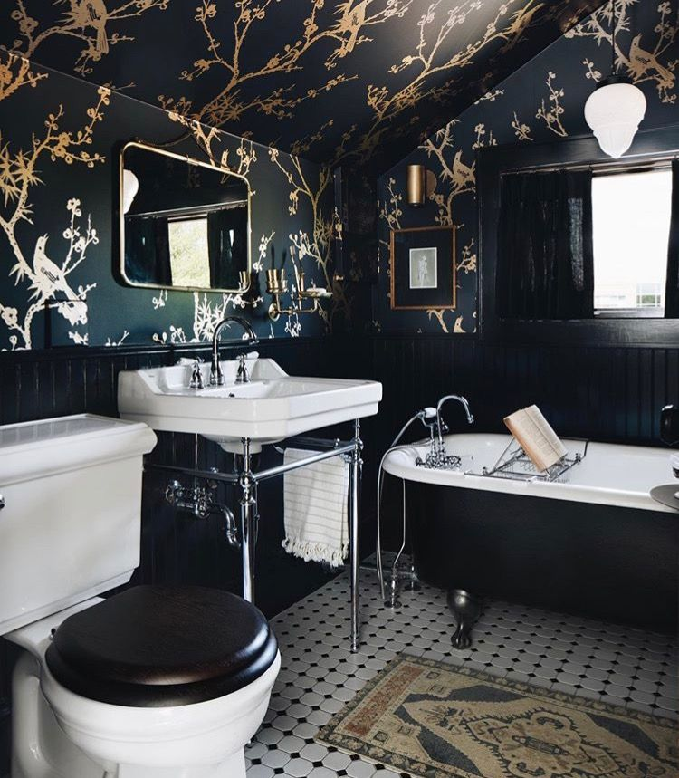 Bird Watching Bathroom Interior Design Home Bathroom Interior