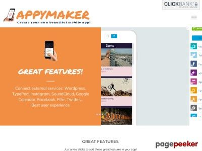 News Videos & more -  This may help you - Appymaker, Create Your Own Beautiful Mobile App! #Music #Videos #News