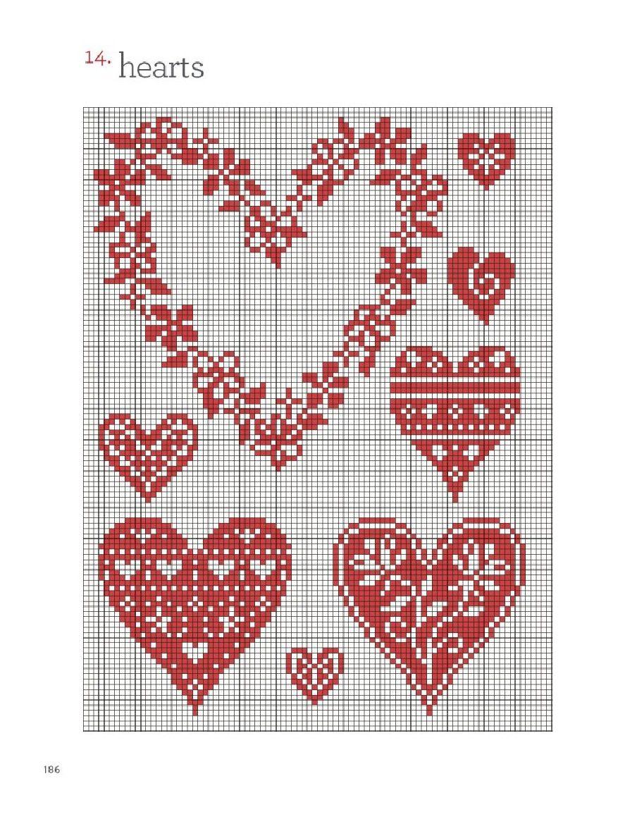 Сердце вышивка картинка