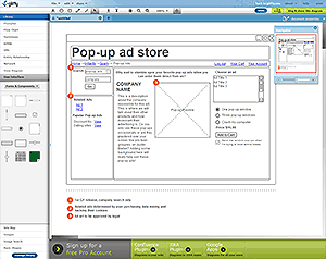 5 Of The Best Free Online Wireframing Applications Wireframe Web Design Pop Up Ads