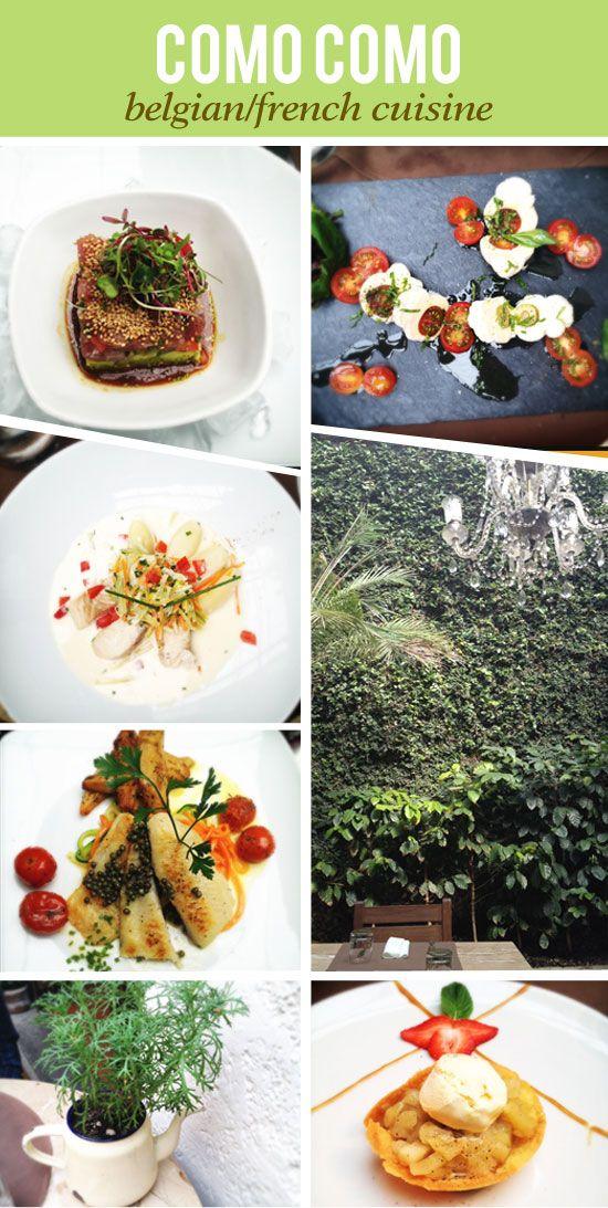 COMO COMO french belgian cuisine in Antigua Guatemala
