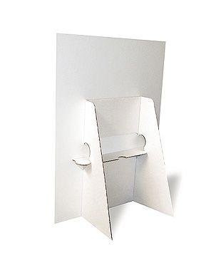 Pappaufsteller Din A4 Pappaufsteller Pappe Und Pos Display