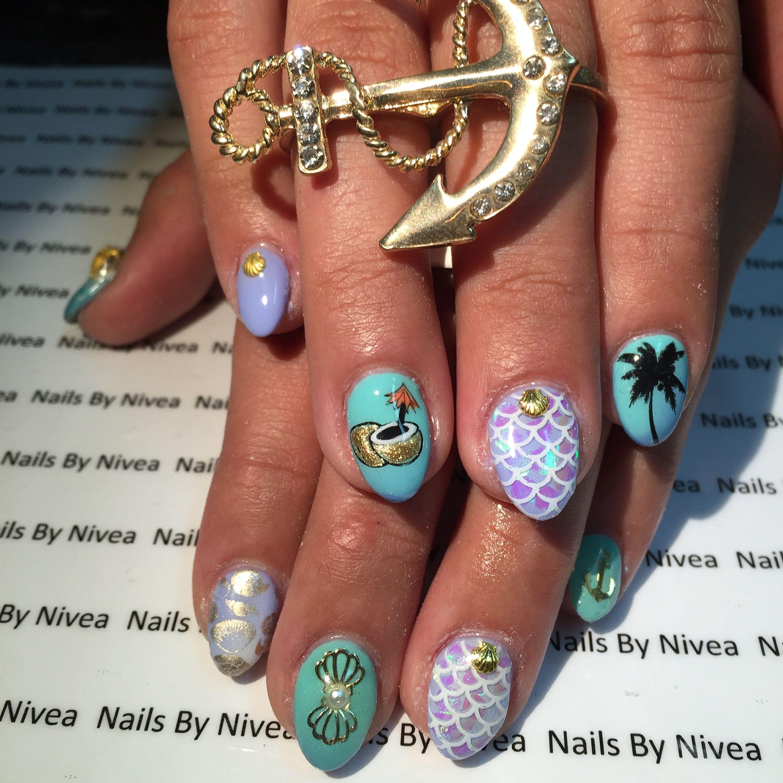 Gel nails design by nailsbynivea