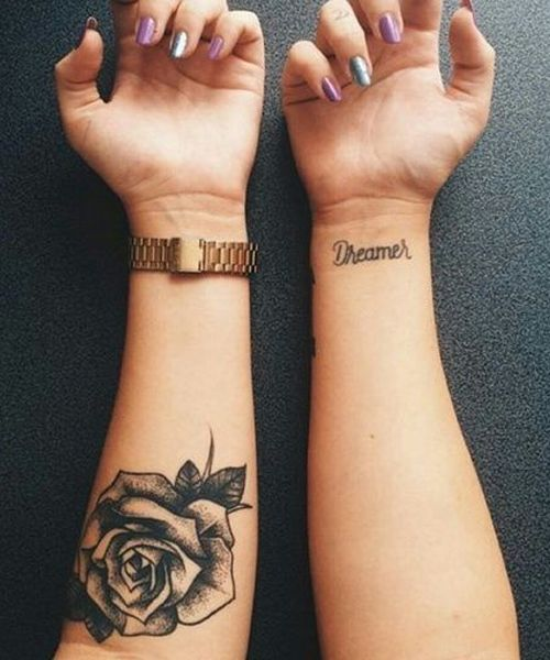 32 Meaningful Flower Tattoos For Girls Rose Tattoo Forearm
