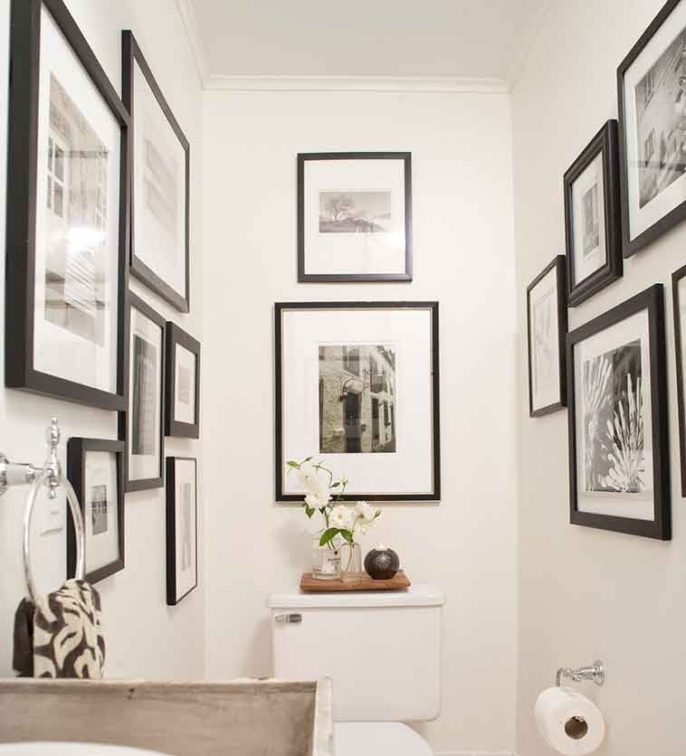 Bathroom wall art has moved from boring to exceptional thanks to pieces that reflect the