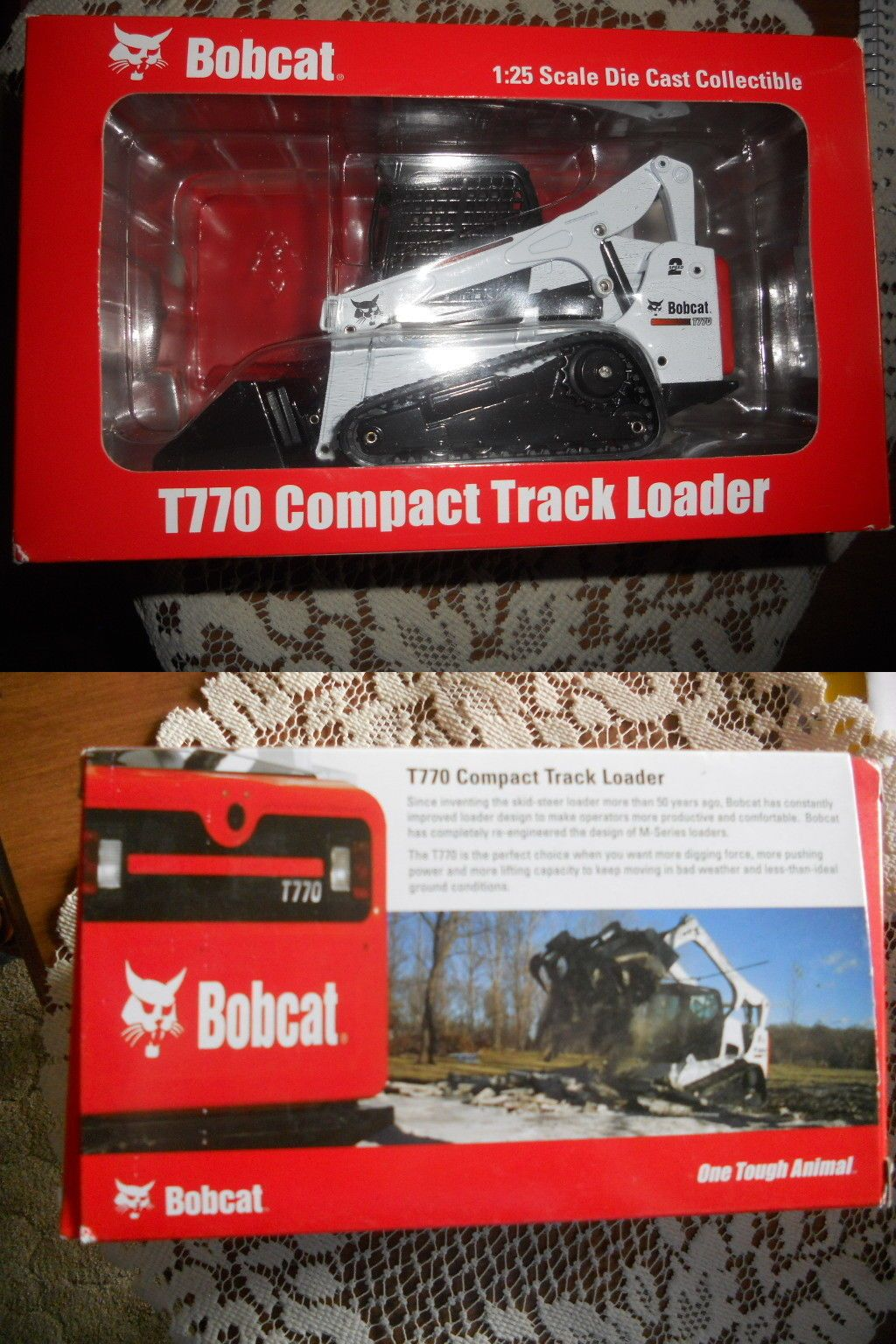Bobcat T Compact Track Loader Scale Die Cast NEW NIB