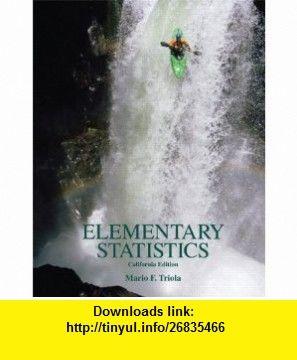 Elementary statistics california edition w cd 9780558983055 elementary statistics california edition w cd 9780558983055 mario f triola fandeluxe Gallery