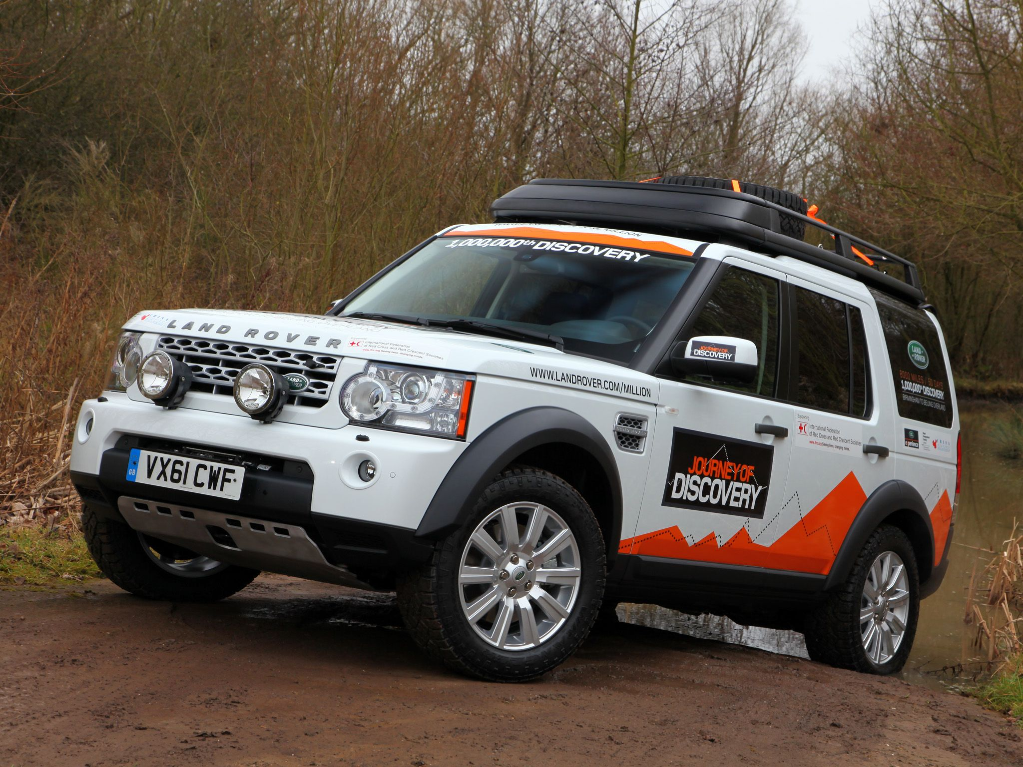 landrover rear off heavy duty parts itm spare rover road discovery land wheel carrier