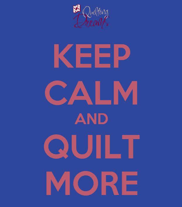 ¿Triste el #BlueMonday?  Pfff, triste es que se te acabe el hilo cuando estás a punto de terminar tu quilt!