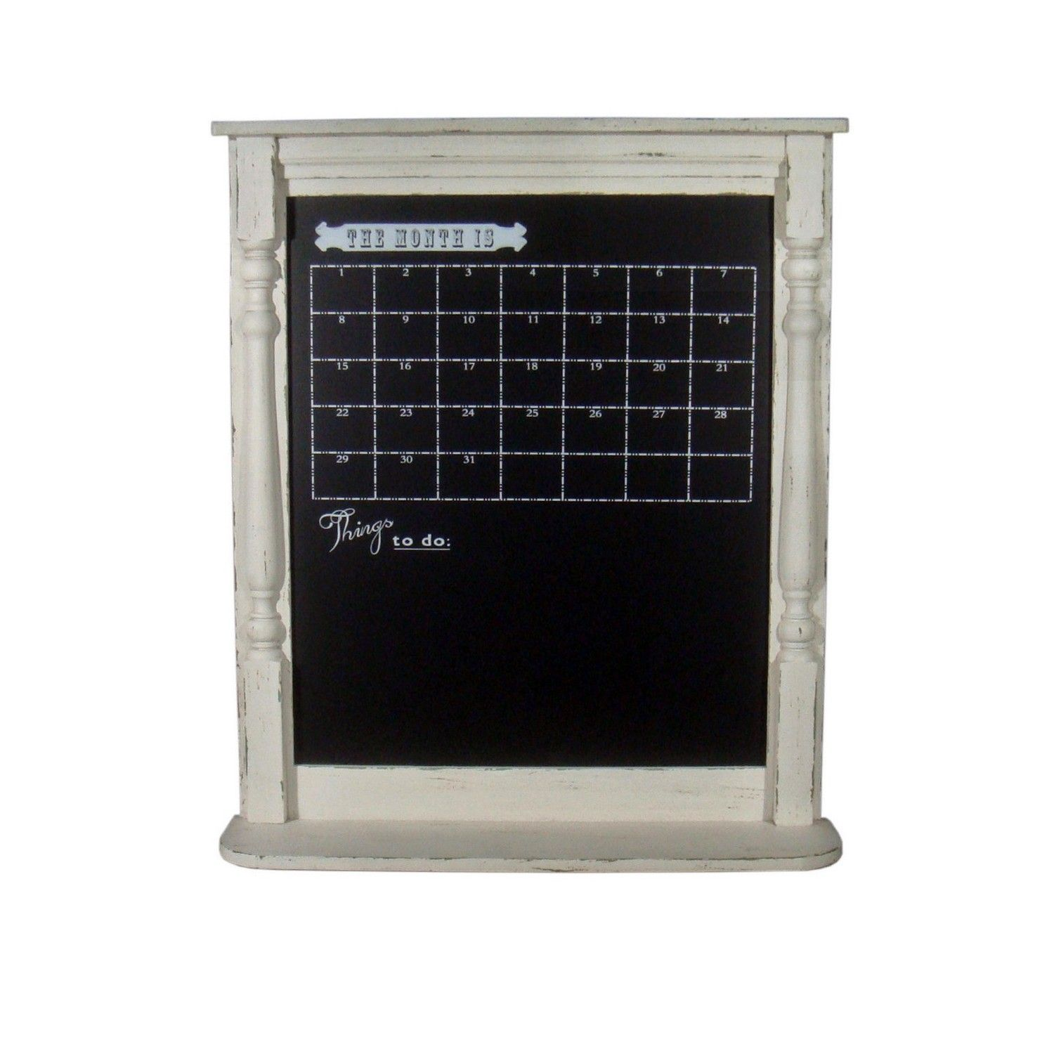 Buy Ivory Calendar Chalkboard - Gallery - The Range