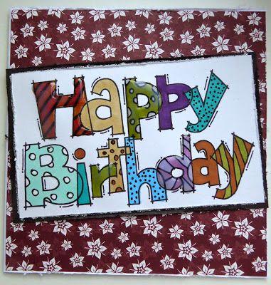 Fasters korthus: Happy Birthday