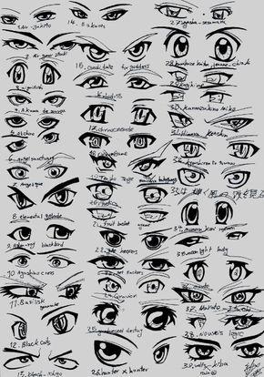 Boy Anime Eyes : anime, Anime, Drawing,, Eyes,, Female