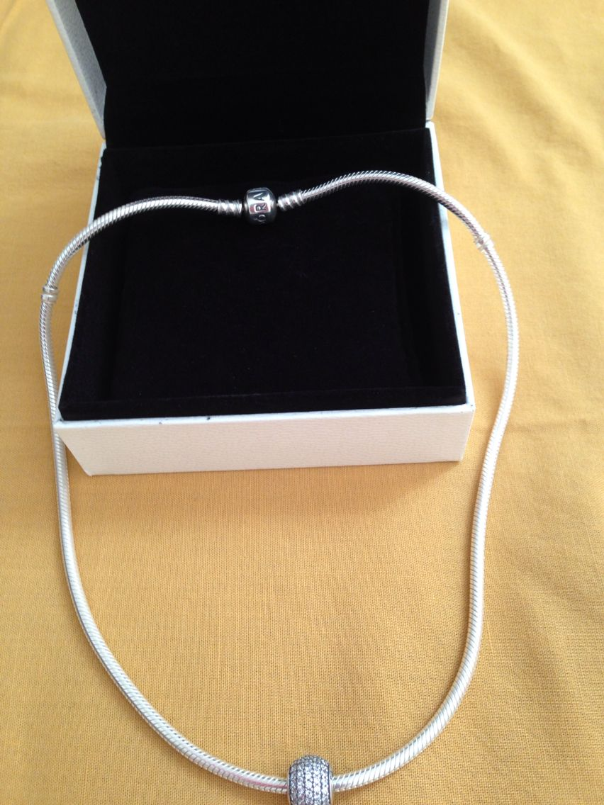 my pandora necklace