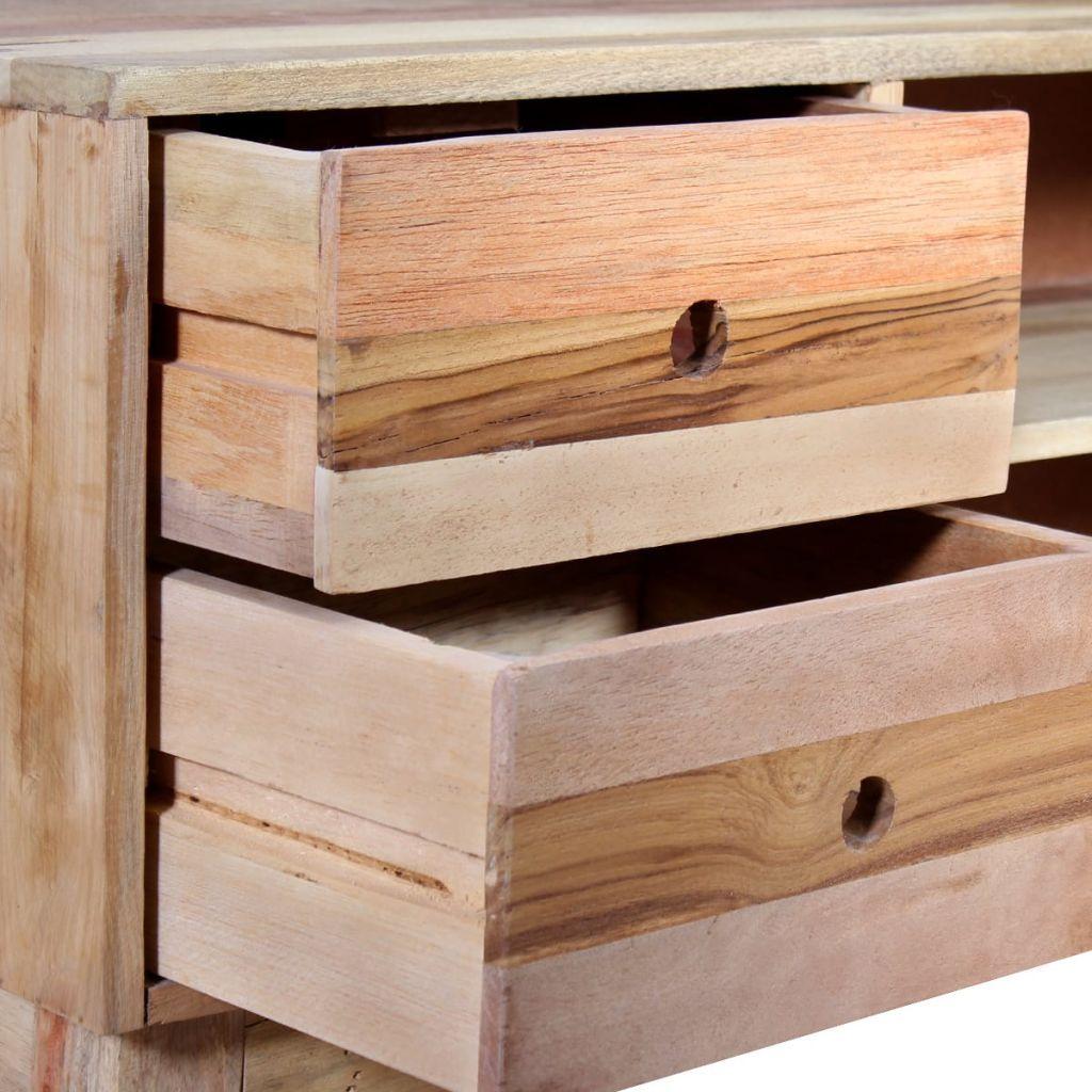ZUN TV Cabinet Solid Reclaimed Wood 244235 Original