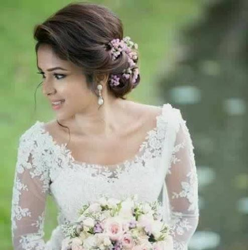 Hairstyles For The Wedding Flowers In The Hair Bridal Look