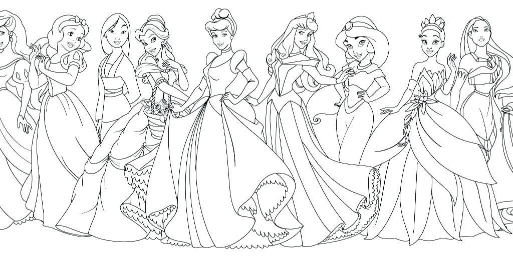 Disney Princess Coloring Page Disney Princess Afbeeldingen Disney ... | 514x1024
