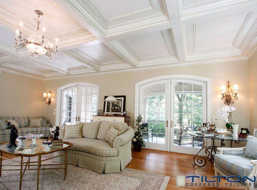60 Fantastic Living Room Ceiling Ideas Living Room Ceiling Coffered Ceiling Design Ceiling Decor