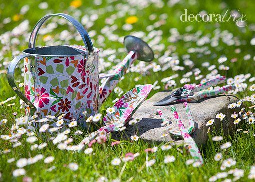 Herramientas de jardiner a florales de decoratrix - Herramientas de jardineria ...