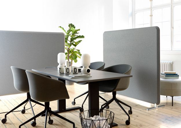 Abstracta Screen System Styled As Office Decor Extraordinary Office Furniture Team Decoration